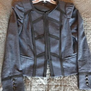 Sophisticated Navy and Black WHBM Jacket